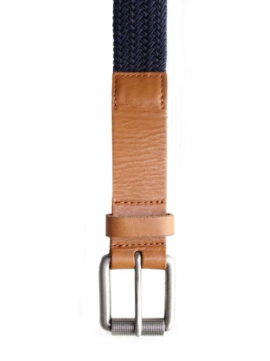 Raging Bull - Braided Belt - Navy