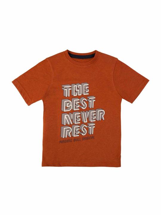 Raging Bull Kids - Best Never Rest Tee - Orange