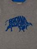 Raging Bull Kids - RB Word Bull Tee - Grey