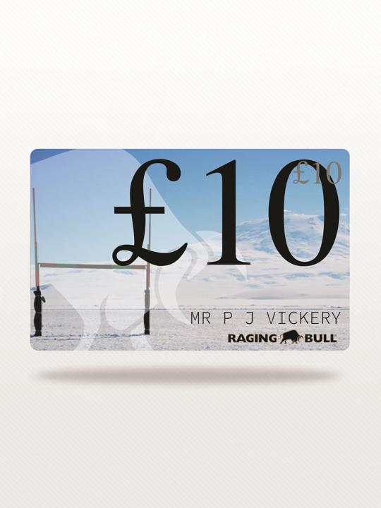 Raging Bull - £10 e-Gift Card