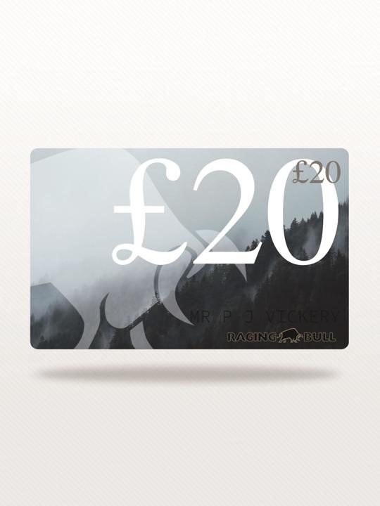 Raging Bull - £20 e-Gift Card