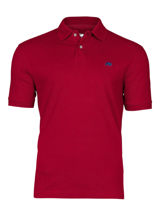 high quality red polo shirt