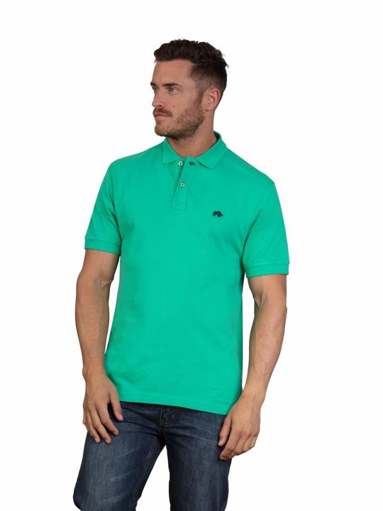 high quality green polo shirt