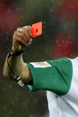 RED CARD ROW, ALL BLACKS ARE HUMAN AND SIT DOWN BILLY