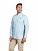 Raging Bull Big & Tall - Long Sleeve Candy Stripe Shirt - Sea Blue