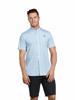 Raging Bull Big & Tall - Short Sleeve Paisley Print Shirt - Petrol