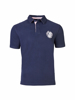 high quality navy short sleeve rugby shirt