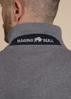 Raging Bull Signature Polo - Grey Marl