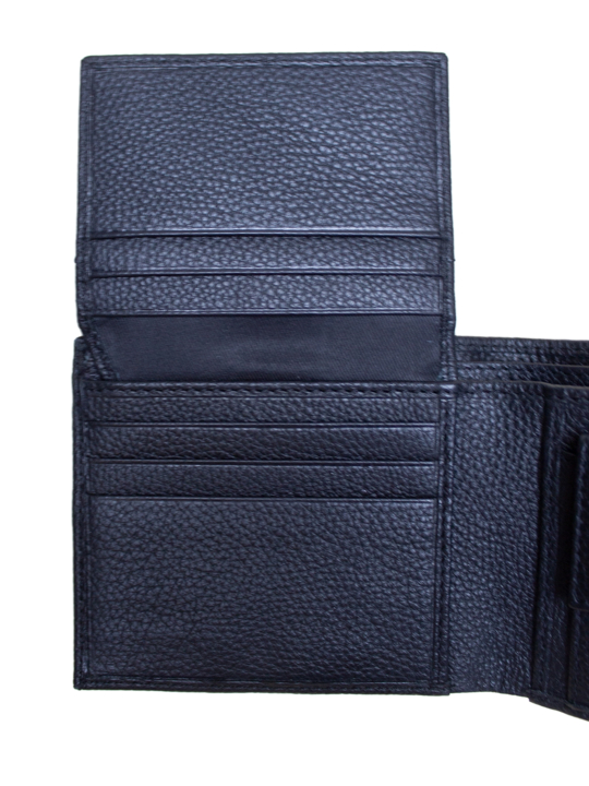 Raging Bull - Leather Coin Wallet - Black