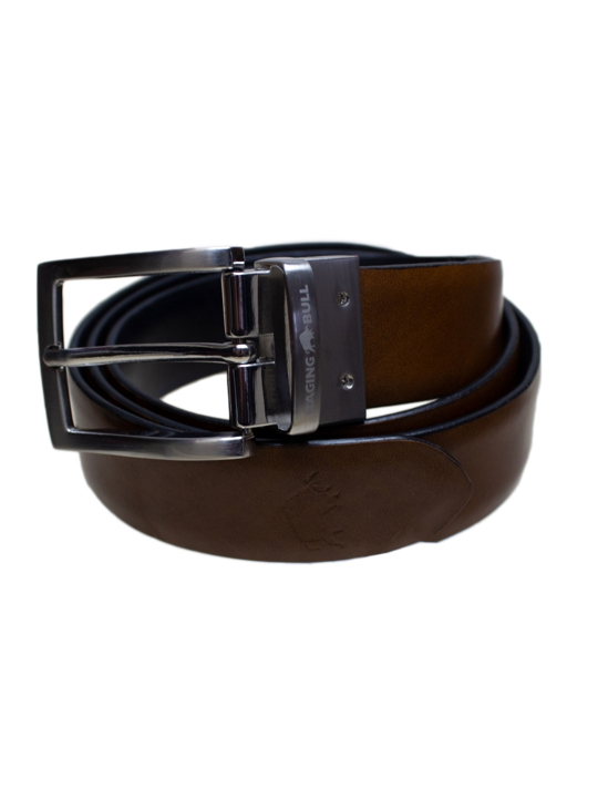 Raging Bull - Reversible Belt - Brown/Black
