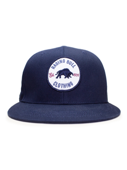 Raging Bull - Patch Snapback Cap - Navy