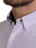 Raging Bull Big & Tall Long Sleeve Signature Oxford Shirt - Purple