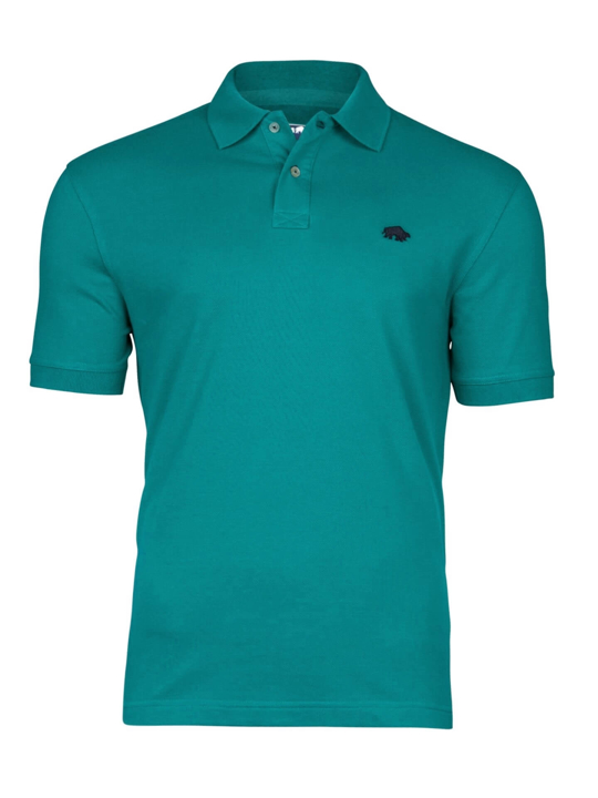 high quality teal polo shirt