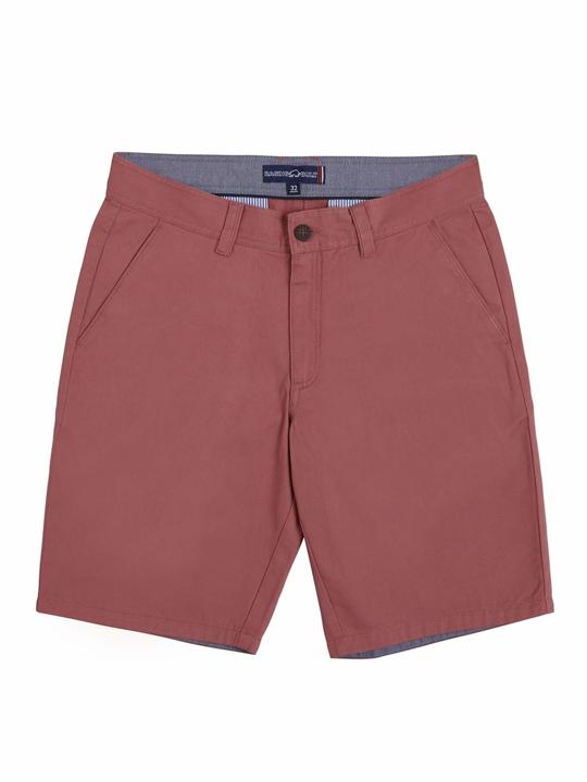 high quality pink chino shorts