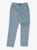 high quality blue chino trousers