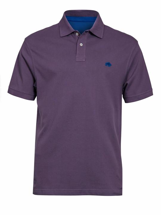 high quality purple polo shirt
