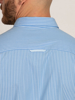 Raging Bull Long Sleeve Pinstripe Poplin Shirt - Sky Blue