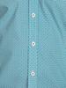 Raging Bull Big & Tall - Long Sleeve Geo Print Shirt - Teal