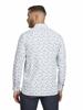 Raging Bull Big & Tall - Long Sleeve Blossom Print Shirt - White