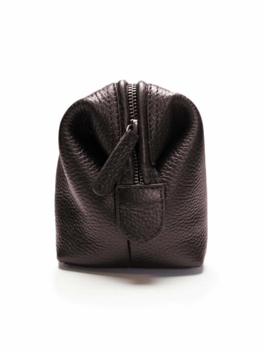 Raging Bull - Leather Wash Bag - Brown