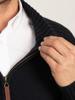 Raging Bull Big & Tall - Heavy Knit Zip Through - Navy