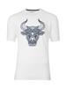 Raging Bull Big & Tall Tribal Bull Tee - White
