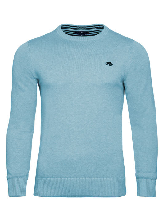 Raging Bull - Big & Tall Signature Lightweight Crew Neck - Sea Blue