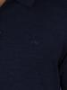 Raging Bull Big & Tall - Long Sleeve Signature Knit Polo - Denim