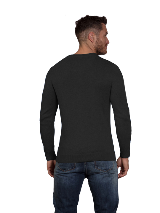 Raging Bull - Big & Tall Signature Lightweight Crew Neck - Black