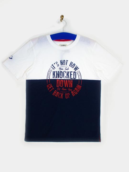 Raging Bull - RB Knock Down Tee  - White