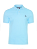 high quality slim fit sky blue polo shirt