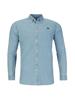 Raging Bull Long Sleeve Light Washed Denim Shirt - Denim