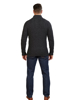 Raging Bull Button Neck Cable Knit - Dark Grey
