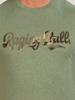 Raging Bull RB Camo Script T-Shirt - Green