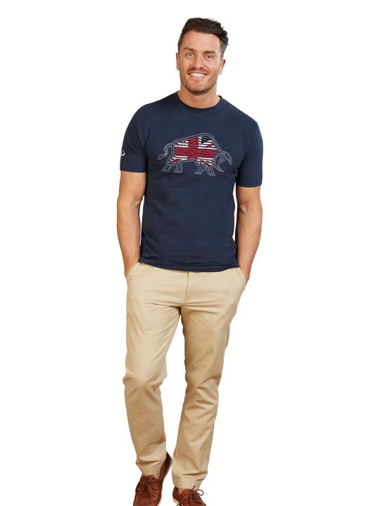 Ripped Union Jack T-Shirt