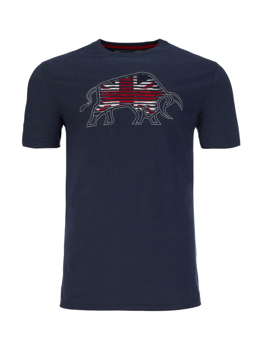 Ripped Union Jack T-Shirt