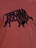 Raging Bull Flock Bull T-Shirt - Claret