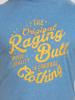 Raging Bull Big & Tall Original RB T-Shirt - Mid Blue