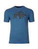 Blue Raging Bull T-Shirt with large logo