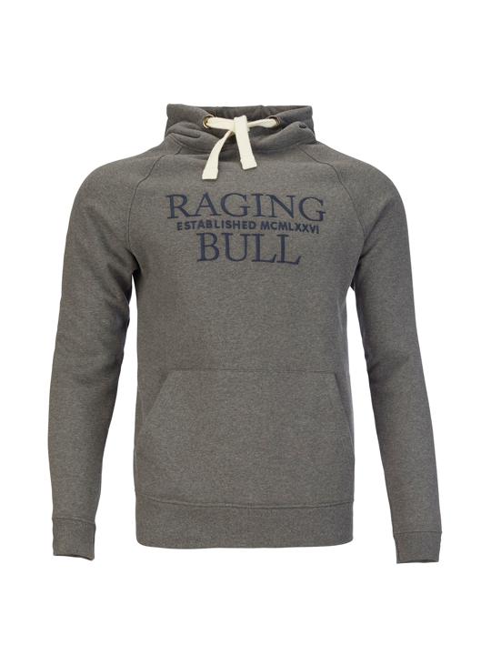 Raging Bull - Big & Tall Raglan Pullover Hoody - Dark Grey