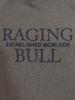 Raging Bull Big & Tall Raglan Pullover Hoody - Dark Grey