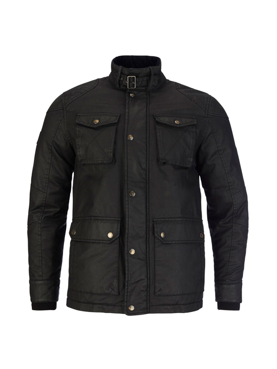 Raging Bull - Big & Tall Wax Field Jacket - Black