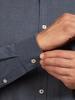 Raging Bull Big & Tall Long Sleeve Geometric Dobby Shirt - Navy