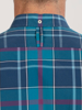 Raging Bull Long Sleeve Large Check Poplin Shirt - Navy