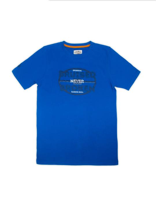 Raging Bull Bruised/Broken T-Shirt  - Cobalt