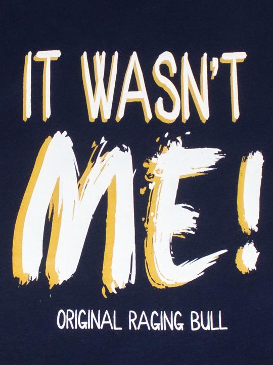 Raging Bull - It Wasn't Me Tee - Navy