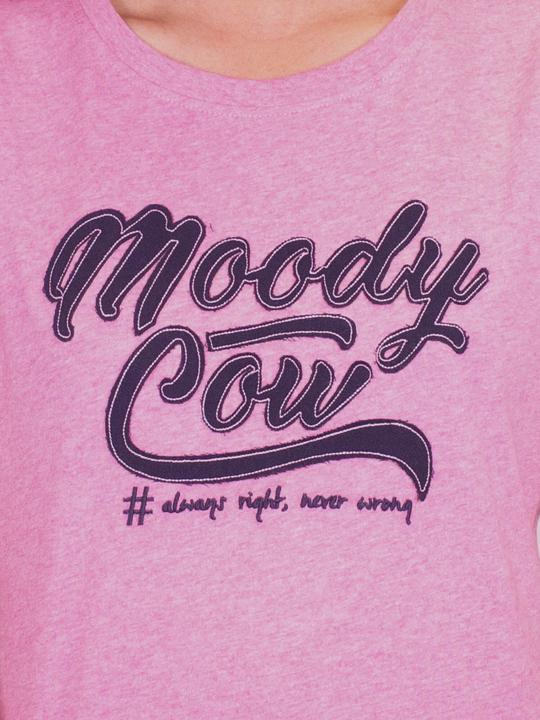 Raging Bull - Original Moody Cow Tee  - Pink