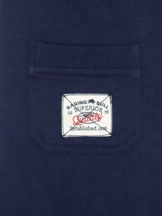 Raging Bull - Boys Jersey Joggers - Navy