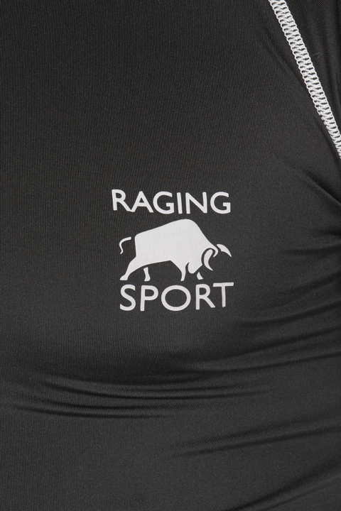 Raging Bull - Big & Tall Base Compression Long Sleeve Tee - Black