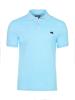 high quality slim fit sky blue polo shirt